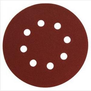 EXTOL 880356 Brúsny papier na s. zips pr.125mm s otvormi, P180, 1ks