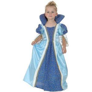 Karnevalový kostým Malá modrá princezná