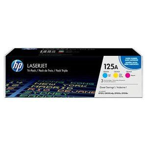 HP 125A 3-pack Cyan/Magenta/Yellow CF373AM