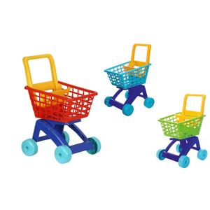 Teddies Nákupný vozík/košík plast 31x59x40cm - Vozík