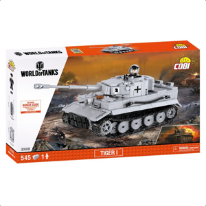 COBI World of Tanks Tiger I 545 k, 1 f 10-COBI-3000B