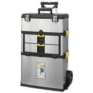Strend Pro 239040 Box na náradie nerezový, 570x350x830 mm, nosnosť 36 kg