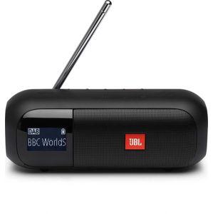 JBL Tuner2 čierny - Bluetooth reproduktor s FM a DAB tunerom