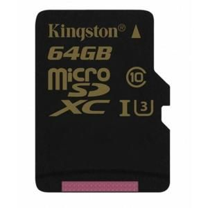 Kingston MicroSDXC 64GB U3 UHS-I (r90MB,w45MB) SDCG/64GB