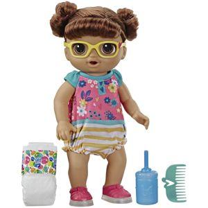 Hasbro Baby Alive Smejúca sa bábika tmavovlasá