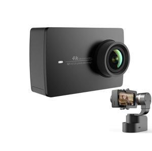 Xiaomi YI 4K Action Camera čierna + Handheld Gimbal Set