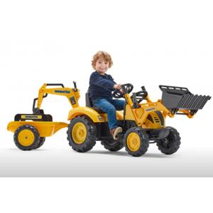 FALK FALK Šliapací traktor 2086Y Komatsu - Šľapadlo