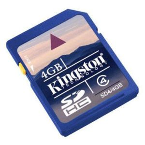 Kingston SDHC 4 GB class 4 - SD karta