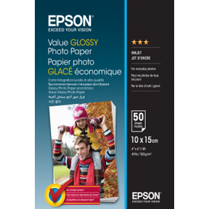 Epson Value Glossy Photo 183g - 10x15cm - 100 str. C13S400039