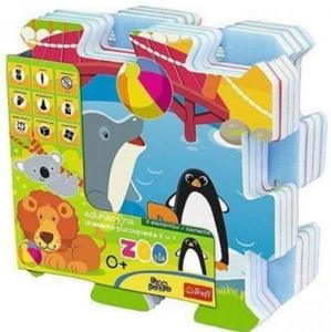 Trefl Penové puzzle Zoo 60695