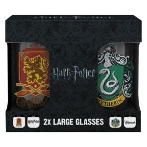 Poháre Harry Potter – Erby set 2ks 500ml M00243