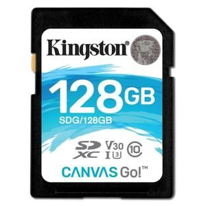 Kingston SDHC 128GB Class 10 UHS-I U3 V30 (r90MB,w45MB) SDG/128GB