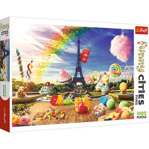 Trefl Trefl Puzzle 1000 Crazy City - Sladký Paríž