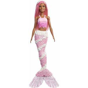 Mattel Barbie Čarovná Morská víla ružová FXT10 698909