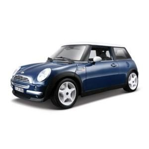 Bburago Mini Cooper 2001 1:18 Gold 12034