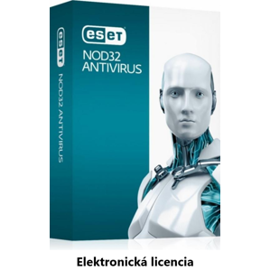 ESET NOD32 Antivirus 4PC + 2rok
