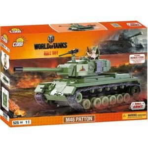 COBI World of Tanks M46 Patton 525 k, 1 f 10-COBI-3008