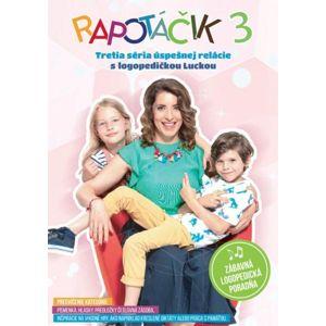Rapotáčik - Rapotáčik 3 - logopedické DVD