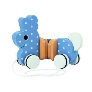 Trefl Trefl Drevená hračka zajko na špagátiku