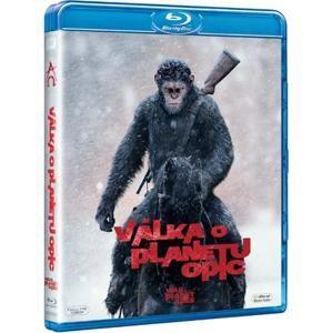 Vojna o planétu opíc - Blu-ray film