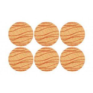 Makro 96750 Podložka korok kruh potlač 6ks