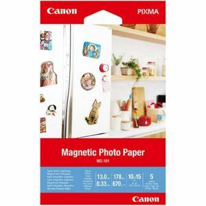 Canon MG-101 10x15cm fotopapier magnetický 5ks 670g - Fotopapier 10x15cm