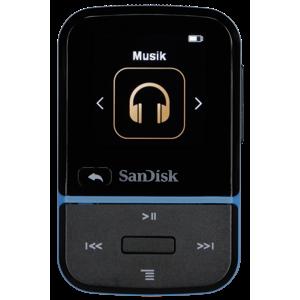 SanDisk MP3 Clip Sport GO 16GB modro-čierny 183557