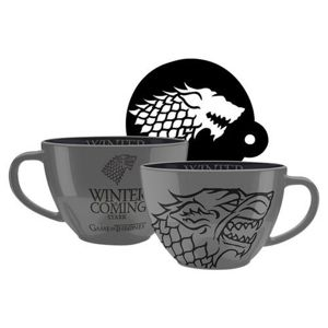 Hrnček Game of Thrones – Stark cappuccino 630ml M00356
