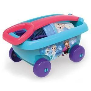 Smoby Vozík so súpravou do piesku Frozen 670013