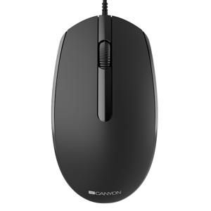 Canyon - Optická myš čierna