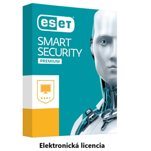 ESET Smart Security Premium 4PC + 1rok