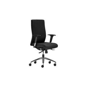 BOSTON 24 CI - Kancelárska záťažová stolička, látka BN7 čierna