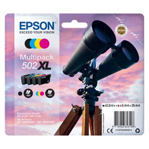 Epson 502XL CMYK XP-5100 28.4ml C13T02W64010