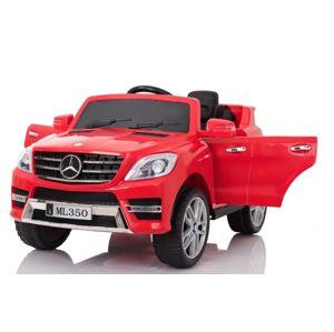 BENEO Mercedes-Benz ML350, 2 X motor, dialkové ovládanie, červené  MERCEDES_ML350_RED