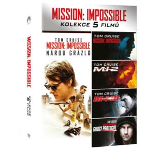 Mission: Impossible 1-5 - DVD kolekcia (5DVD)