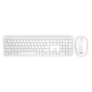HP Pavilion Wireless Keyboard and Mouse 800 (White) SK  4CF00AA#AKR