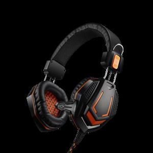 Canyon Fobos - Slúchadlá s mikrofónom oranžovo čierne