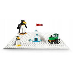 LEGO LEGO Classic 11010 Biela podložka na stavanie