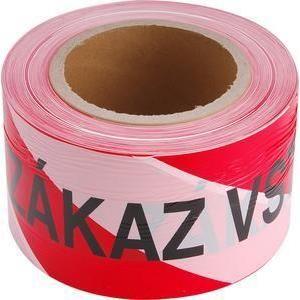 EXTOL 9568 Páska ZÁKAZ VSTUPU červeno-biela, 75mm x 250m
