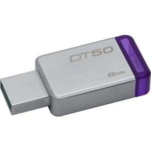Kingston DataTraveler 50 8GB (Metal/Purple) DT50/8GB