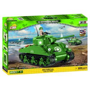 Cobi 2464 Small Army II WW M4A1 Sherman