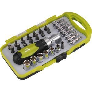 EXTOL 53091 Skrutkovač račňový, magnetický držiak na bity
