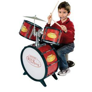 Bontempi Detská bicia súprava 4 diely s elektronikou - Hudobný nástroj