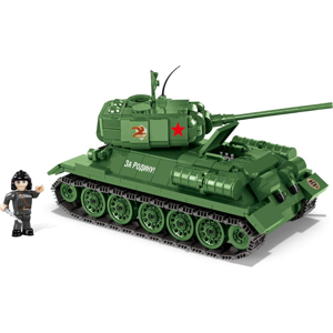 COBI World of Tanks T-34/85, 500 k, 1 f 10-COBI-3005A