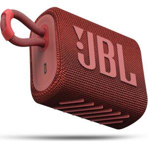 JBL GO3 červený  + VYHRAJ PEUGEOT 208 - Bezdrôtový reproduktor