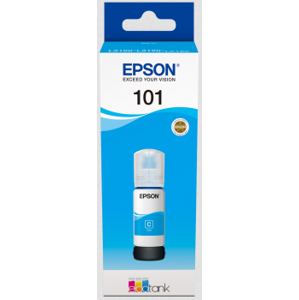 Epson 101 Cyan Ink Container 70ml L41xx/L61xx C13T03V24A
