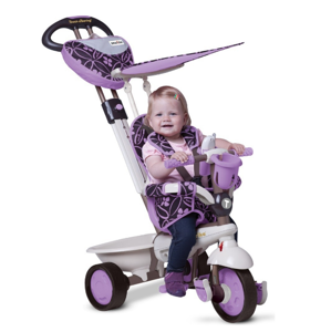 SMART TRIKE 159 Dream Touch Steering 4v1 Fialová 1590700