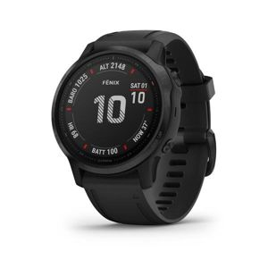 Garmin fénix 6S PRO, Black, Black band 010-02159-14