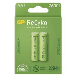 GP ReCyko HR6 (AA) 2600mAh 2ks - Nabíjacie batérie