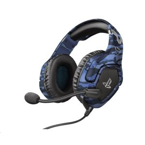 Trust GXT 488 Forze-B PS4 Gaming Headset PlayStation® official licensed product blue 23532